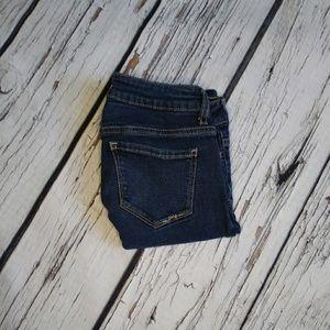 Aeropostale Dark Wash Lola Legging Jeans Sz 3/4